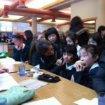 Earth Week Face Painting for the Jr. School