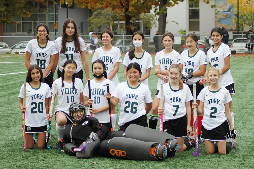 Tigers Junior Field Hockey Team played an exhibition game vs Kits Secondary